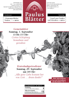 Paulus Blätter September 2019